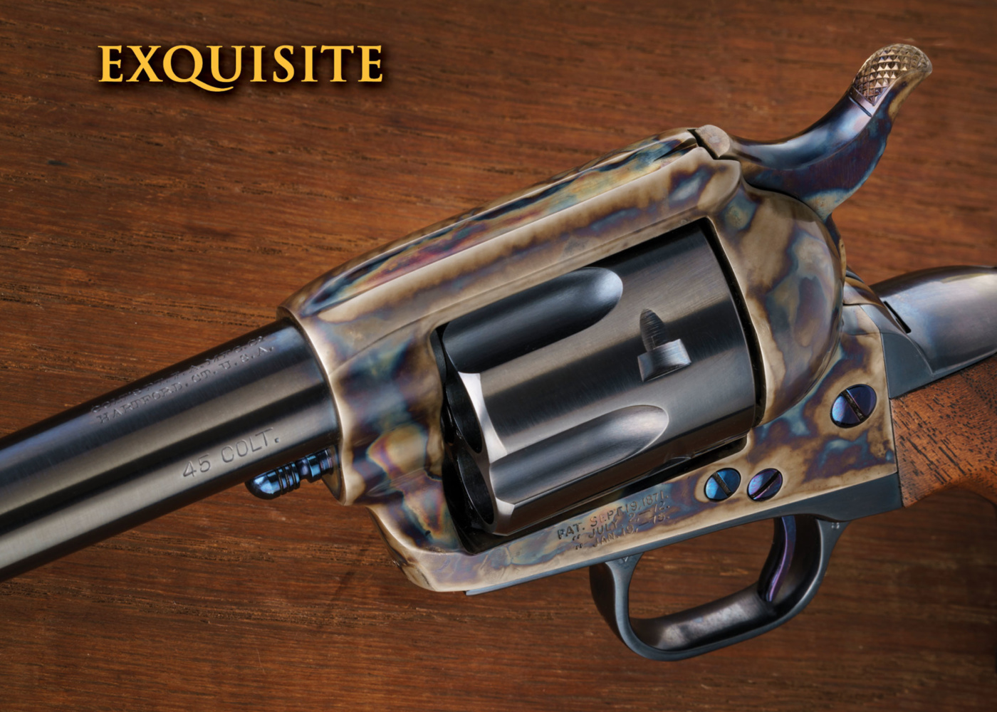 Colt Single Action Army Revolver Specialists – Peacemaker